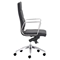 Engineer High Back Office Chair - Casters, Black - ZM-205892
