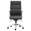 Engineer High Back Office Chair - Casters, Black
