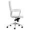 Engineer High Back Office Chair - Casters, White - ZM-205893