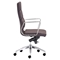 Engineer High Back Office Chair - Casters, Espresso - ZM-205894