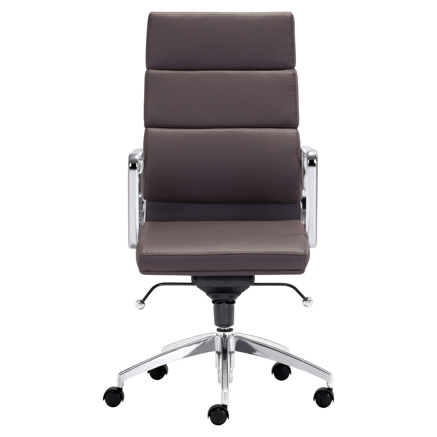 Engineer High Back Office Chair - Casters, Espresso