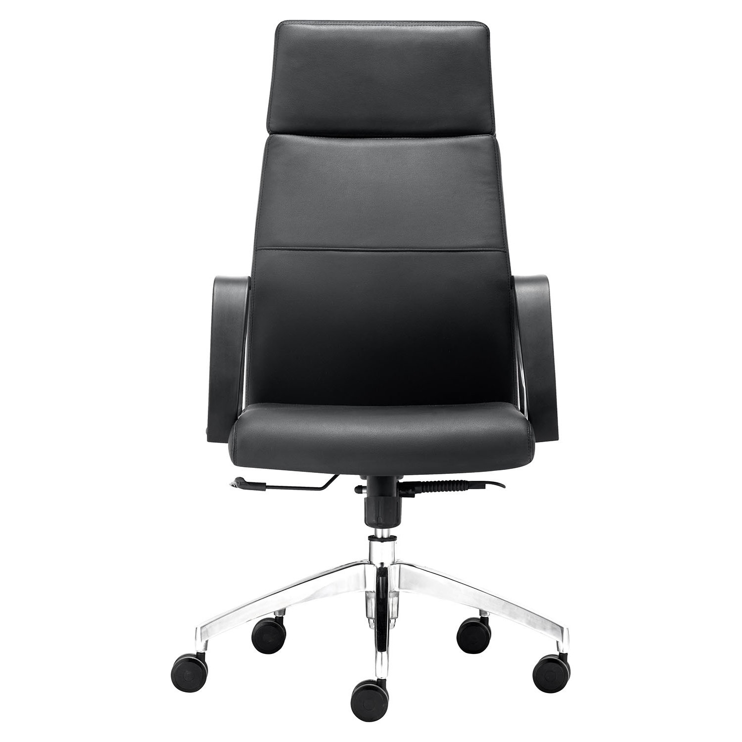 Conductor High Back Office Chair - Casters, Black