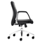 Conductor Low Back Office Chair - Casters, Black - ZM-206100