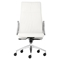 Dean High Back Office Chair - Casters, White - ZM-206131