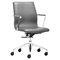 Herald Low Back Office Chair - Gray - ZM-206152