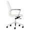 Lion Low Back Office Chair - White - ZM-206171