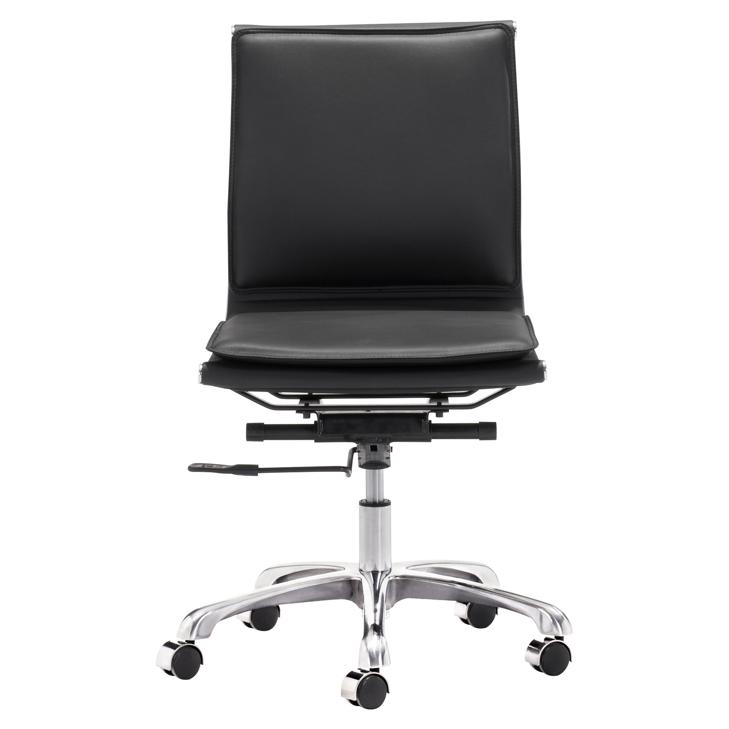Lider Plus Armless Office Chair - Black - ZM-215218