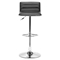 Equation Black Bar Chair - Swivel, Adjustable - ZM-300218