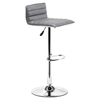 Equation Gray Bar Chair - Swivel, Adjustable