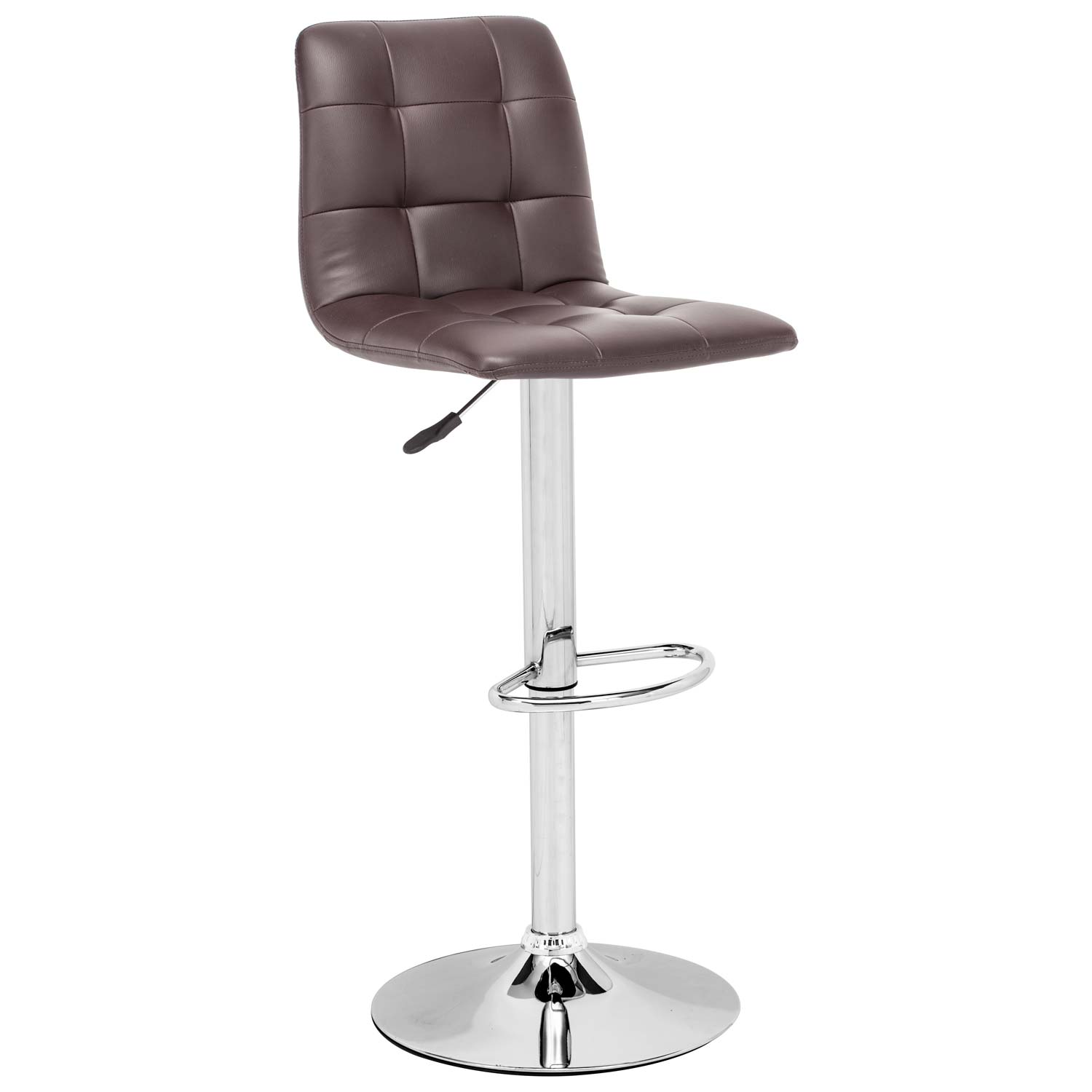 Oxygen Adjustable Swivel Barstool - Button Tufted - ZM-30135X