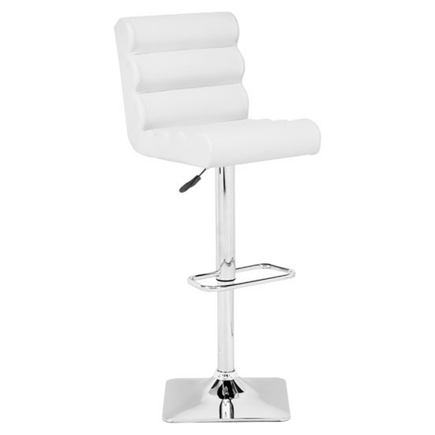 Nitro Bar Chair - Adjustable, White