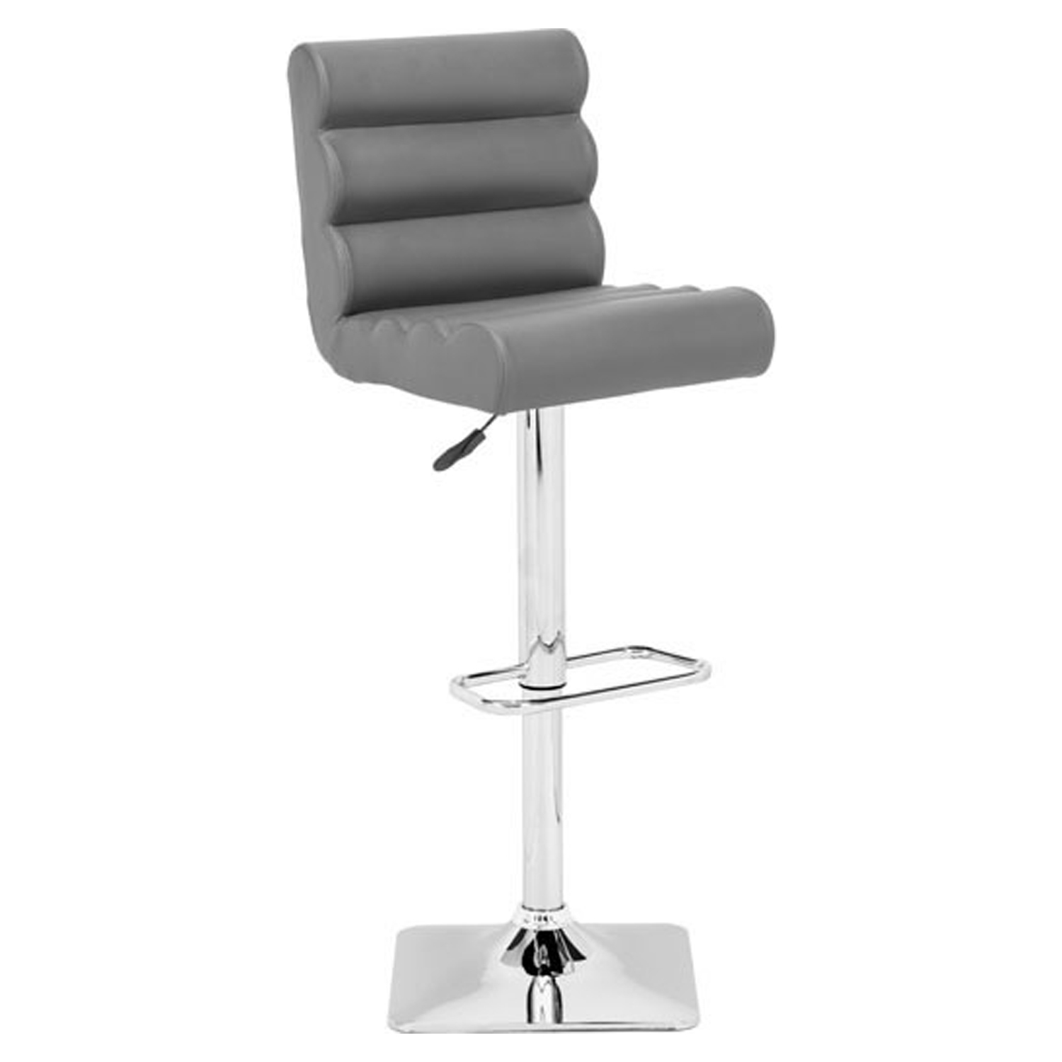 Nitro Bar Chair - Adjustable, Gray