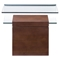 Mystic Walnut Side Table - ZM-404063
