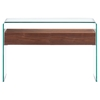 Shaman Walnut Console Table