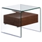 Shaman Walnut Side Table - ZM-404068