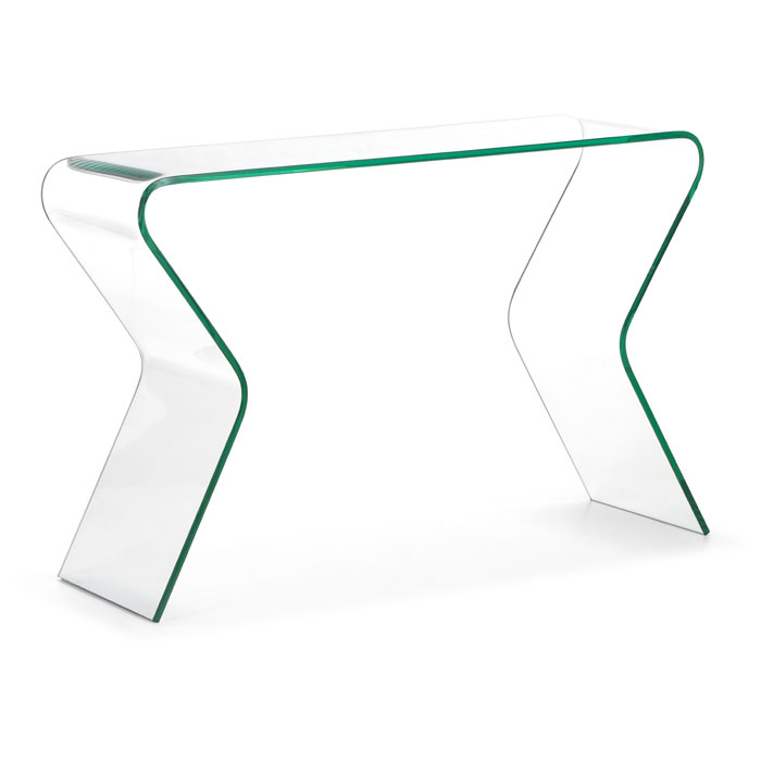 Respite Glass Console Table