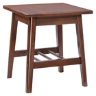 Aventura Walnut Side Table