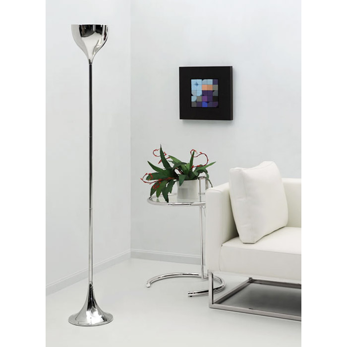 Neutrino Chrome Floor Lamp - ZM-50013
