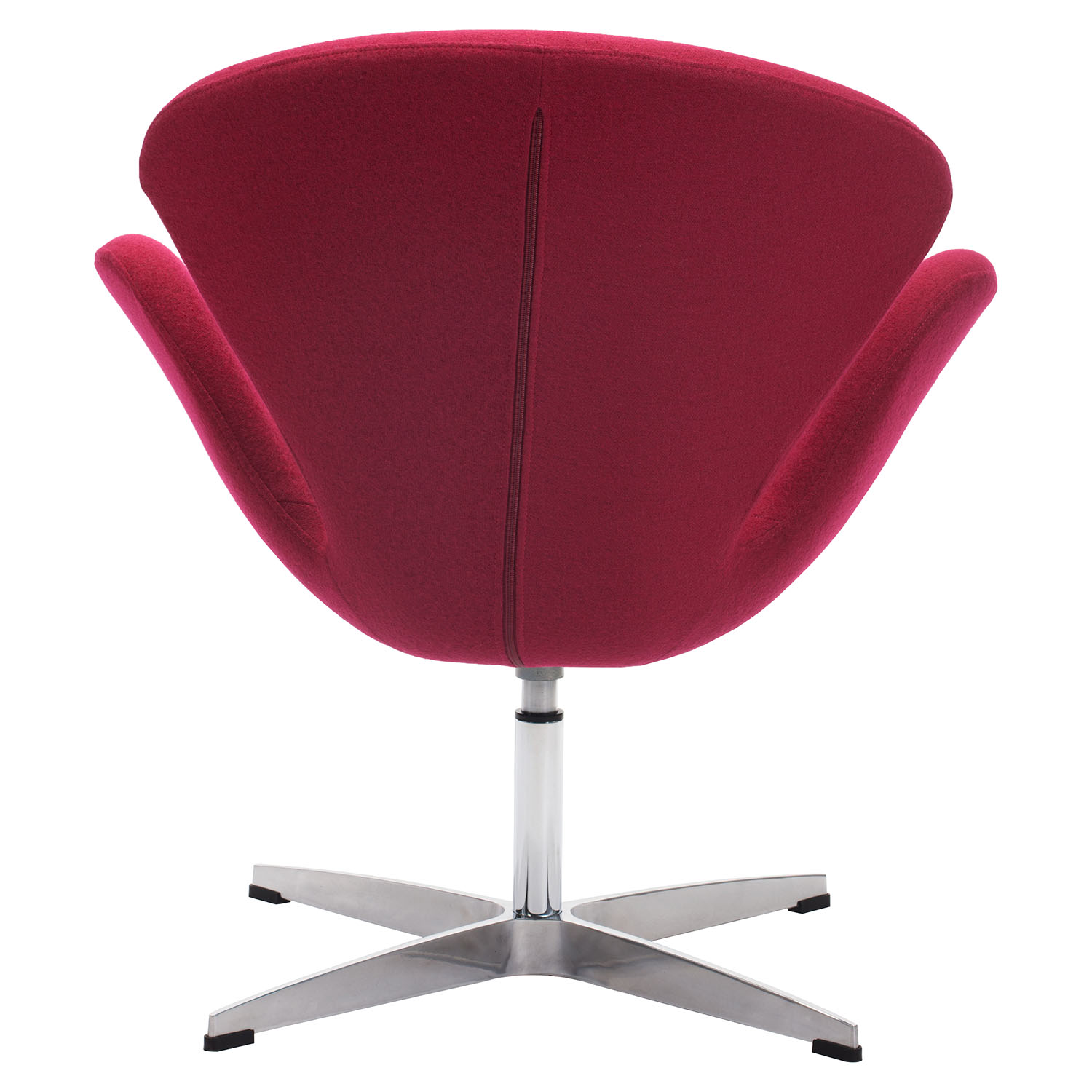 Pori Arm Chair - Carnelian Red - ZM-500309