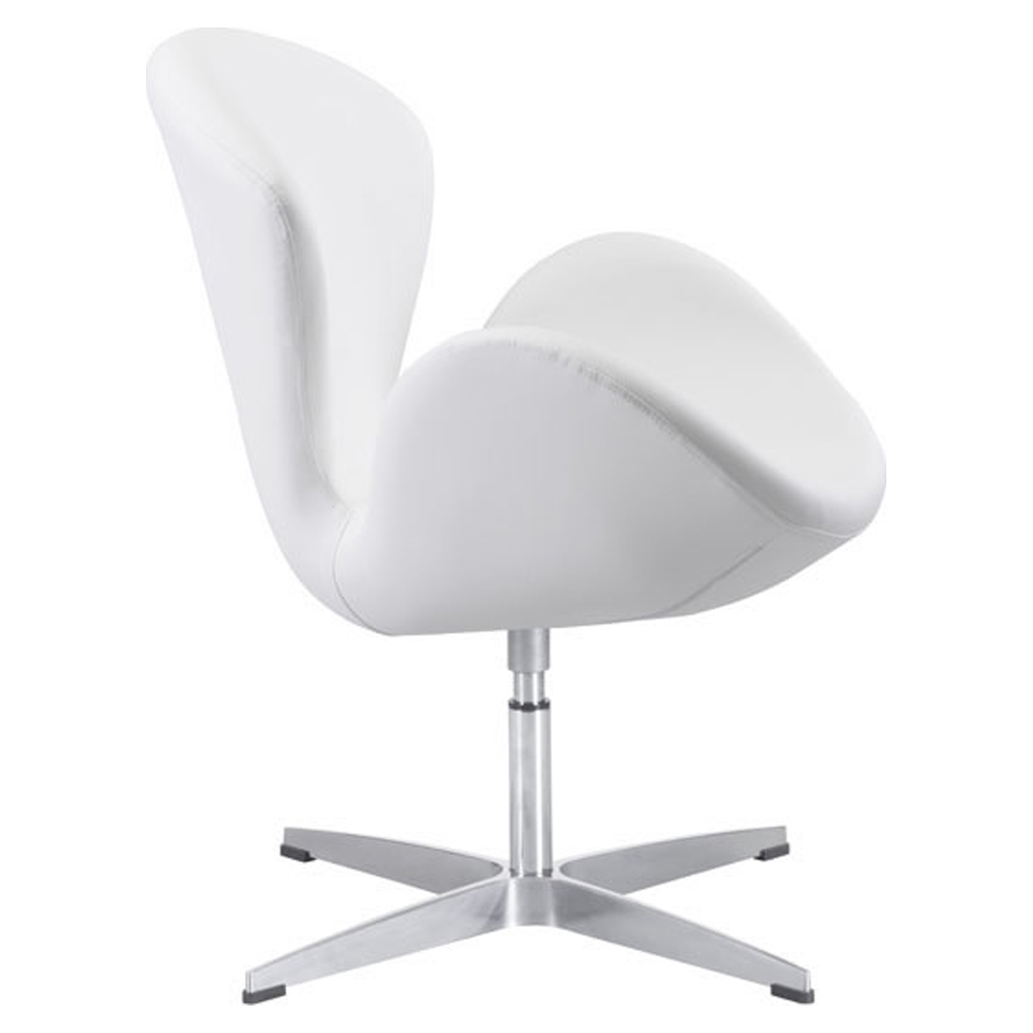 Pori Arm Chair - White - ZM-500314