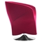 Kuopio Arm Chair - Carnelian Red - ZM-500330