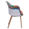 Safdie Occasional Chair - Patchwork Multicolor - ZM-500350