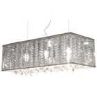 Blast Rectangular Ceiling Lamp - Translucent Shade