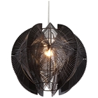 Centari Ceiling Lamp - Metal, Acrylic, Black