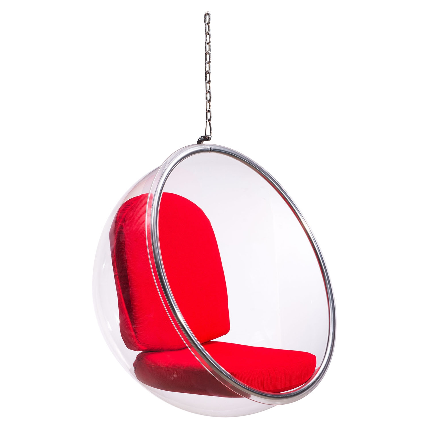Bolo Red Suspended Chair