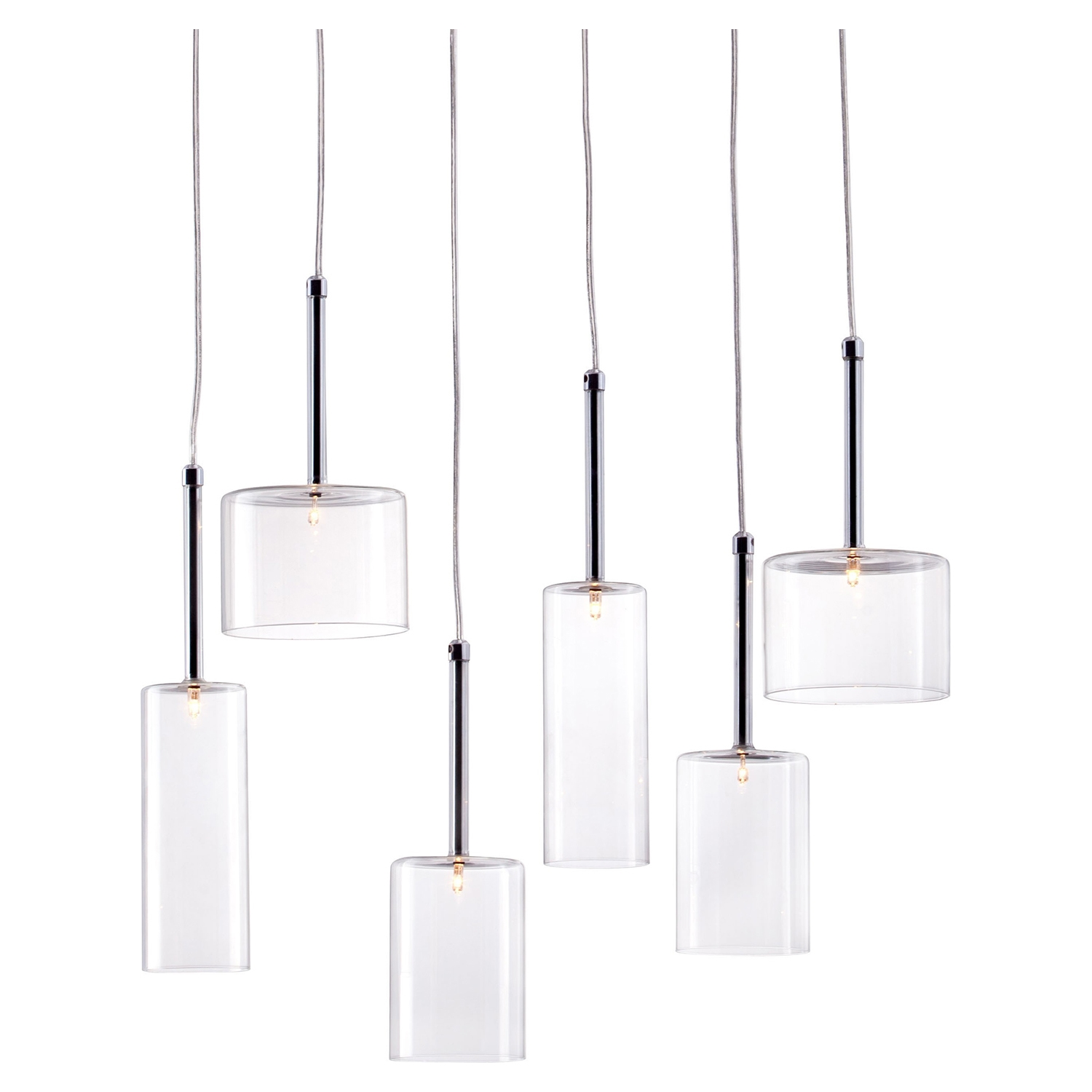 Hale Clear Ceiling Lamp