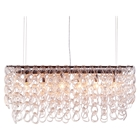 Jet Stream Clear Ceiling Lamp