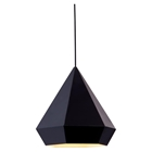Forecast Black Ceiling Lamp