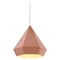 Forecast Rose Gold Ceiling Lamp - ZM-50174
