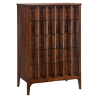 Portland High Chest - Walnut