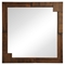 San Diego Mirror - Walnut - ZM-800329