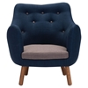 Liege Cobalt Blue Chair