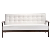Aventura Sofa - Tufted, White