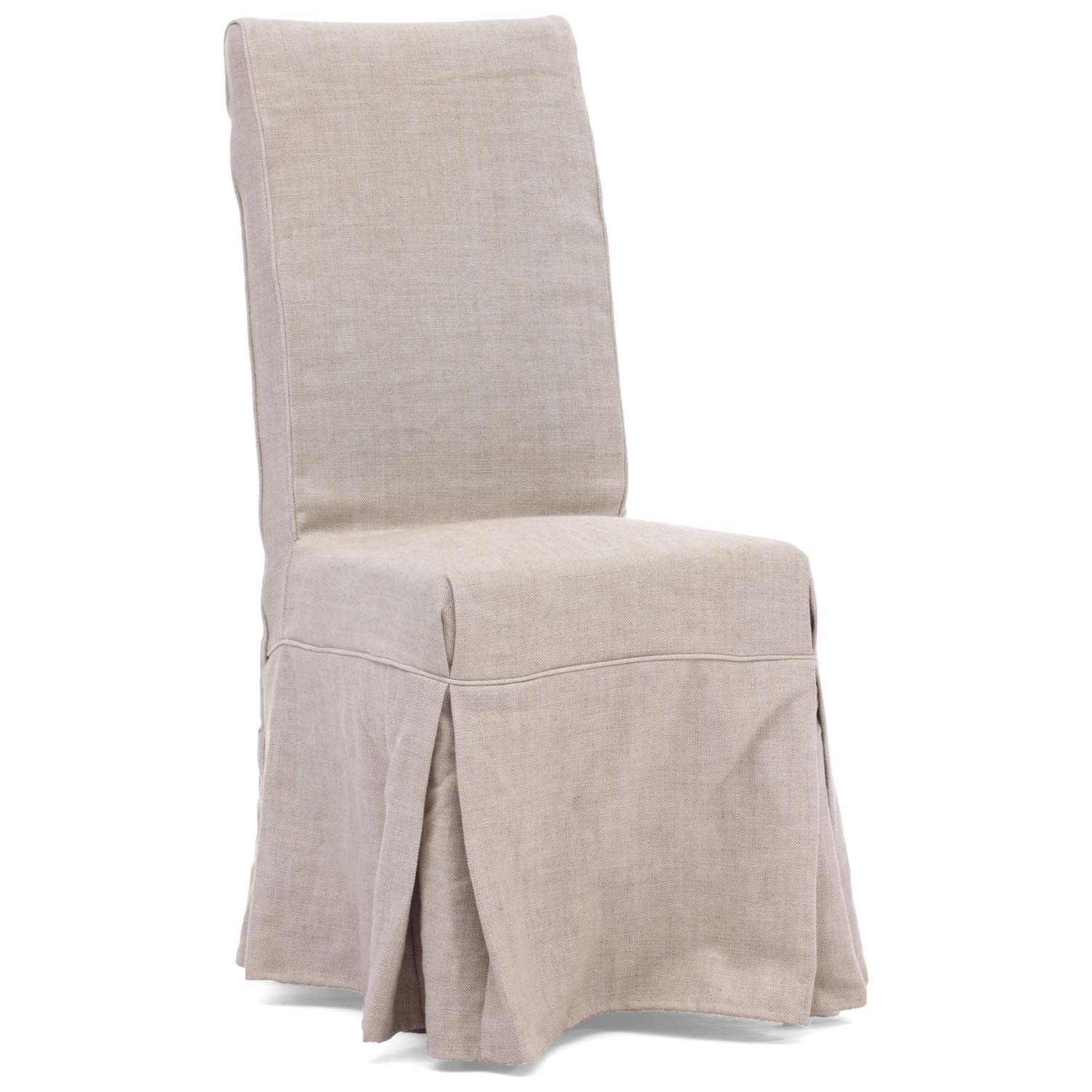 Dog Patch Chair - Beige Linen Slipcover