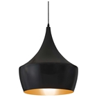 Copper Ceiling Lamp - Black Metal