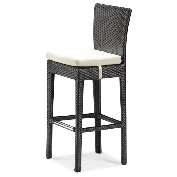 Anguilla Modern Patio Bar Chair