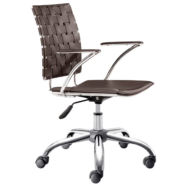 Criss Cross Woven Office Chair