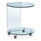 Mission Round Glass Side Table - ZM-404112