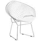 Net Bertoia Style Diamond Chair