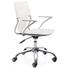 Trafico White Office Chair