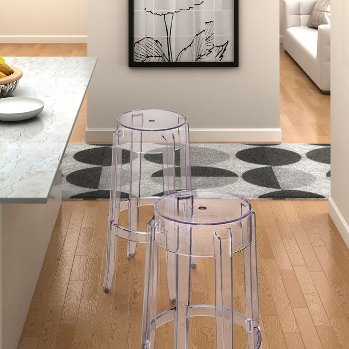 Anime Stackable Transparent Bar Stool - ZM-106106