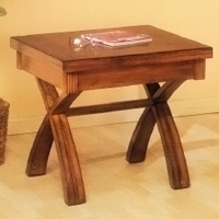 Amador Pine End Table