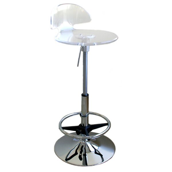 Tachi Clear Acrylic Bar Stool