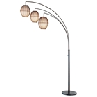 Maui 3-Light Arc Lamp