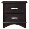 Madison 2-Drawer Nightstand - Dark Espresso