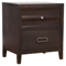 Legacy 2-Drawer Nightstand - Black Cherry - ALP-1788-02